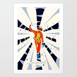 2001 Space Odyssey II Art Print