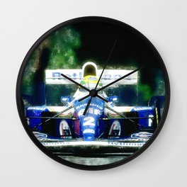 Ayrton Senna, Willams Wall Clock
