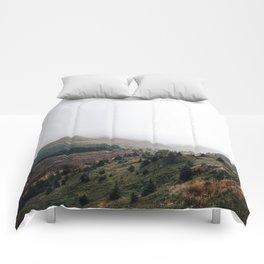 Scottish landscape Comforters