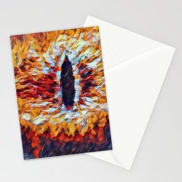 Lord Rings Eye Artistic Illustration Material Presence Style Stationery Cards