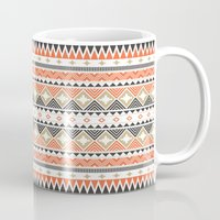 navajo Mugs featuring Navajo Pattern by The Babybirds