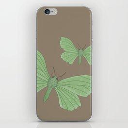 Emerald Moth iPhone Skin