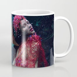 Red fire coral Coffee Mug