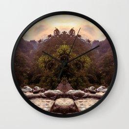 Kaleidoscape: Xela Wall Clock