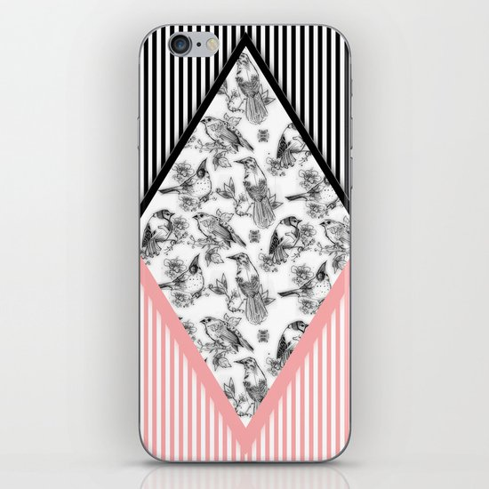 Bird Cage iPhone & iPod Skin