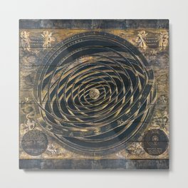 Zodiac Old World Metal Print