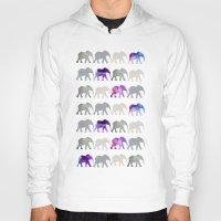 elephants Hoodies featuring elephants by shop