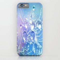 Diamond Dew Flowers (Periwinkle Lavender) Slim Case iPhone 6s