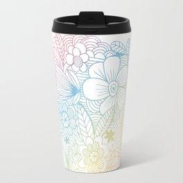 mostly harmless - rainbow Travel Mug