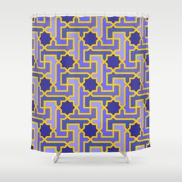 Moroccan pattern Shower Curtain
