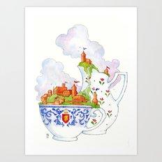 Teacup Kingdoms Art Print