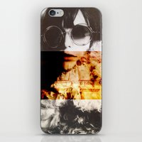 the shining iPhone & iPod Skins featuring Shining by Lama BOO