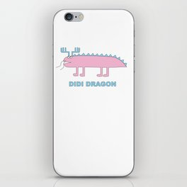 Didi Dragon iPhone Skin