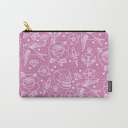 Pink Flash Carry-All Pouch