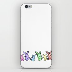 Pastel Bunnies iPhone & iPod Skin