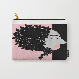 bbnyc babushka on pink Carry-All Pouch