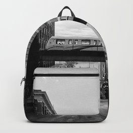 Morning Train BW Backpack