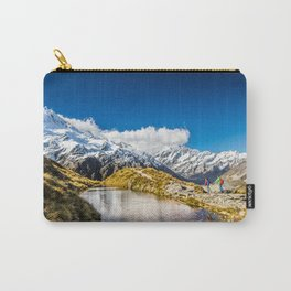 New Zealand Mount Cook Aoraki Carry-All Pouch