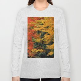 Massachusetts - Autumn Colors Long Sleeve T-shirt