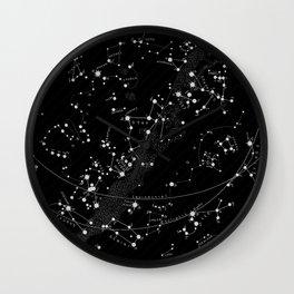 Vintage star map Wall Clock