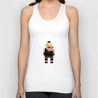madonna Tank Tops featuring Madonna by Pixel Icons