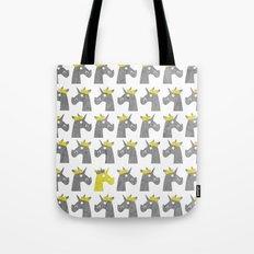 Royal Crown Unicorn Tote Bag