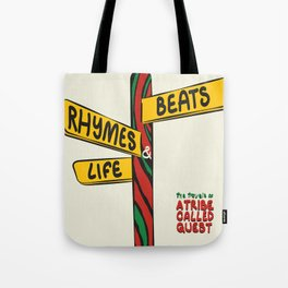 Beats, Rhymes & Life Tote Bag