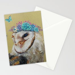 The Butterfly Effect Barn Owl Stationery Cards
