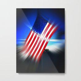 American Diamond Metal Print