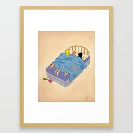 Untitled (the lost digest) Framed Art Print
