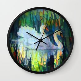 Cherished Love Wall Clock