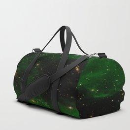 Nebula California, An Emerld Delight Duffle Bag