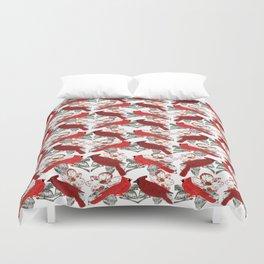 Little Cardinals Duvet Cover