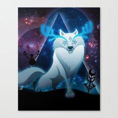The wonder wolf Canvas Print