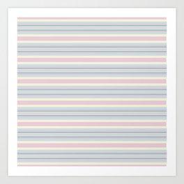 Candy Stripes Art Print