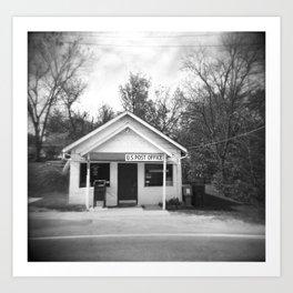 Small Town America Art Print