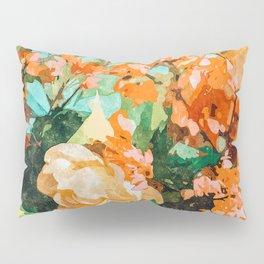 Blush Garden #painting #nature #floral Pillow Sham