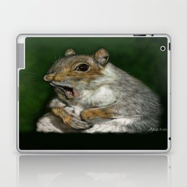 Squirrel Friend Laptop & iPad Skin