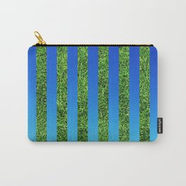 Grass & Sky Stripes Carry-All Pouch