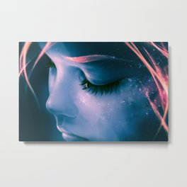 Focus on yourself Metal Print