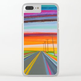 backroads Clear iPhone Case