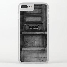 Saint Germain Clear iPhone Case