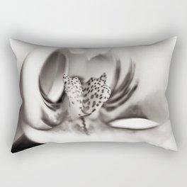 Orchid Closeup II Rectangular Pillow