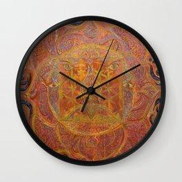 Muladhara - Root Chakra Wall Clock