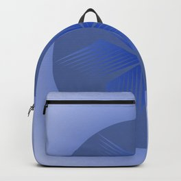 Circle with blue wings Backpack