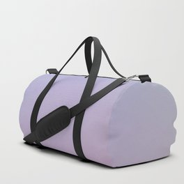 LAVENDER - Minimal Plain Soft Mood Color Blend Prints Duffle Bag