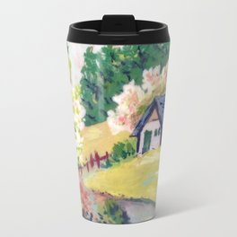 Spring Alpine Travel Mug