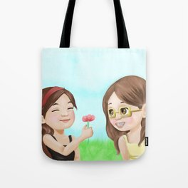 Kid!Faberry Tote Bag