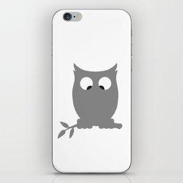 Cross Eyed OWL iPhone Skin