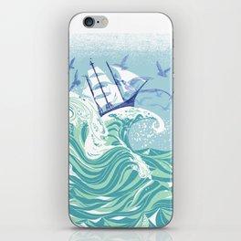 Sea Fever iPhone Skin